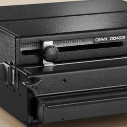 Gamme de relieuses et de perforateurs de papier Onyx