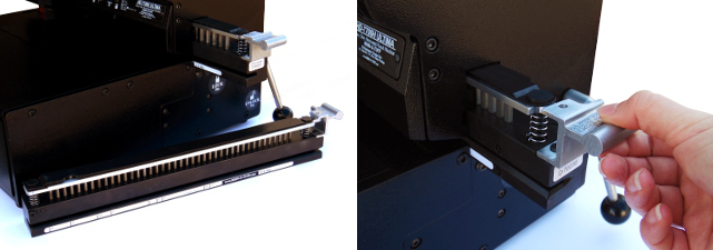 Outils interchangeables pour la perforation des documents à relier
